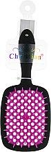 Духи, Парфюмерия, косметика Щетка для сушки, укладки волос , CR-4269, черно-фиолетовая - Christian