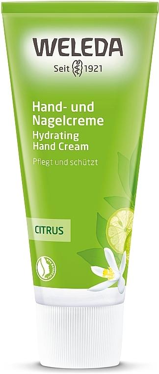 Цитрусовый питательный крем для рук и ногтей - Weleda Citrus Hand- und Nagelcreme