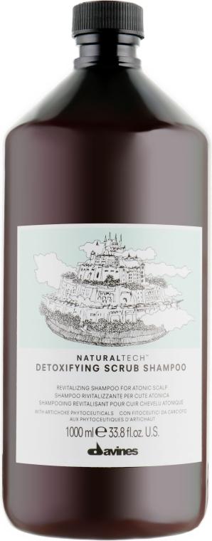Шампунь-скраб детоксицирующий - Davines Detoxifying Shampoo