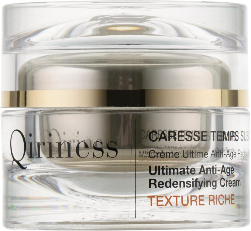 Антивозрастной восстанавливающий обогащенный крем для лица - Qiriness Ultimate Anti-Age Redensifying Cream Rich