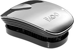Духи, Парфюмерия, косметика Расческа для волос - Ikoo Pocket Oyster Metallic Black