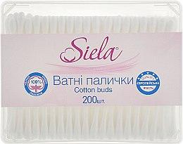 Духи, Парфюмерия, косметика Ватные палочки в коробке - Siela Cotton Buds