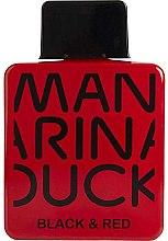 Духи, Парфюмерия, косметика Mandarina Duck Black & Red - Туалетная вода (тестер с крышечкой)
