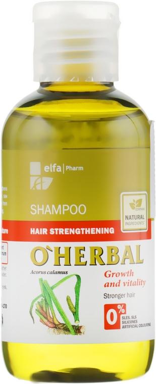 """Шампунь для укрепления волос """"Рост и сила"""" - O'Herbal"""