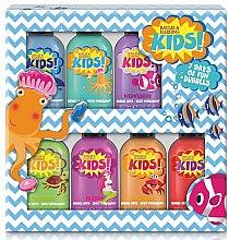 Духи, Парфюмерия, косметика Набор - Baylis & Harding Kids 7 Day Bubble Bath Set (b/foam/7x50ml)