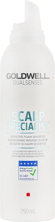 Шампунь для чувствительной кожи головы - Goldwell DualSenses Scalp Specialist Sensitive Foam Shampoo