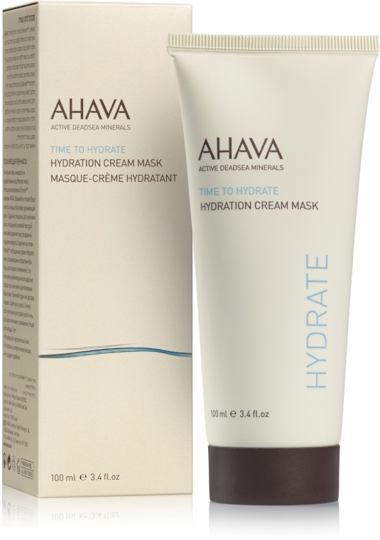 Увлажняющая крем-маска - Ahava Time to Hydrate Hydration Cream Mask