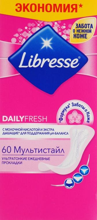 Прокладки ежедневные, 60шт - Libresse Daily Fresh Multistyle