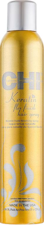 Лак для волос естественной фиксации - CHI Keratin Hair Spray 2.6