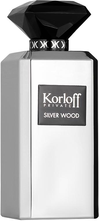Korloff Paris Silver Wood - Парфюмированная вода
