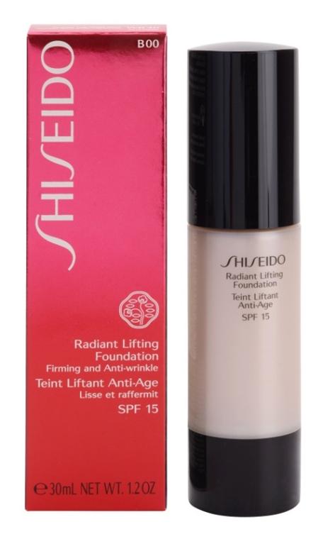 Тональное средство с лифтинг-эффектом SPF 15 - Shiseido Radiant Lifting Foundation SPF 15
