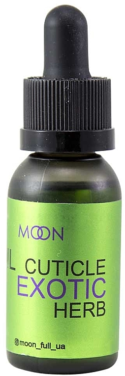Масло для кутикулы - Moon Exotic Herb Cuticle Oil