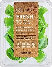 Освежающая тканевая маска с алоэ - Tony Moly Fresh To Go Mask Sheet Aloe — фото N1