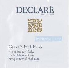 Духи, Парфюмерия, косметика Интенсивно увлажняющая маска - Declare Hydro Intensive Mask (пробник)