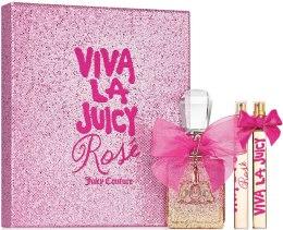 Духи, Парфюмерия, косметика Juicy Couture Viva La Juicy Rose - Набор (edp/100ml + edp/10ml + edp/10ml)