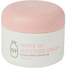 Духи, Парфюмерия, косметика Осветляющий увлажняющий крем - G9Skin White In Moisture Cream