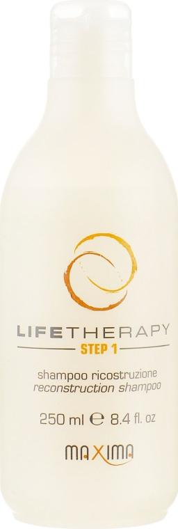 Восстанавливающий шампунь - Maxima Life Therapy Step 1 Reconstruction Shampoo