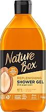 Духи, Парфюмерия, косметика Гель для душа с аргановым маслом - Nature Box Nourishment Shower Gel With Cold Pressed Argan Oil