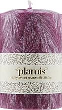 Духи, Парфюмерия, косметика Декоративная пальмовая свеча, темная сирень - Plamis