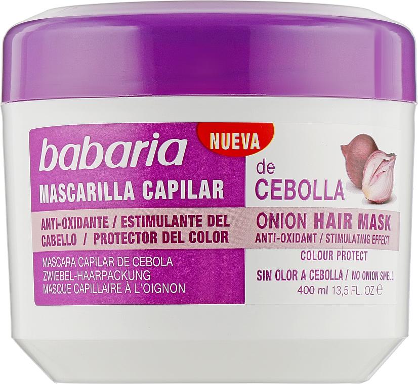 """Маска """"Луковая"""" для роста волос - Babaria Onion Hair Mask"""