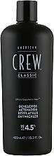 Проявник для системи маскування сивини - American Crew Precision Blend Developer 15 Vol 4.5% — фото N1