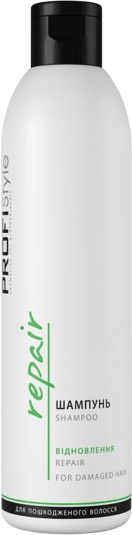 Шампунь відновлюючий для пошкодженого волосся - Profi style — фото N1