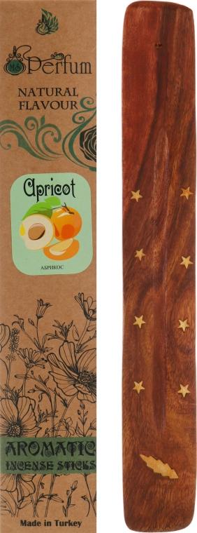"Аромапалочки с деревянной подставкой ""Абрикос"" - MSPerfum"