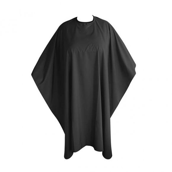 Накидка для стрижки, черная - Bifull Professional Basic
