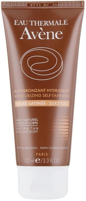 Лосьон для автозагара и увлажнения чувствительной кожи лица и тела - Avene Autobronzant Hydratant Silky Gel