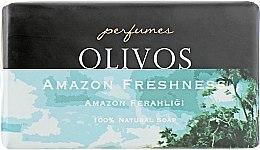 """Духи, Парфюмерия, косметика Натуральное оливковое мыло """"Свежесть Амазонки"""" - Olivos Perfumes Amazon Freshness"""