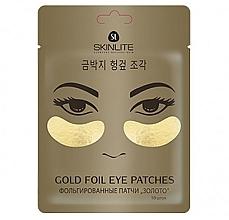 "Духи, Парфюмерия, косметика Фольгированные патчи ""Золото"" - Skinlite Gold Therapy Gold Foil Eye Patches"