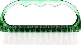 Духи, Парфюмерия, косметика Щетка косметическая для ногтей, 74752, зеленая - Top Choice