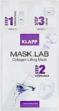 "Парфумерія, косметика Маска ""Колаген/ліфтинг"" - Klapp Mask Lab Collagen Lifting Mask"