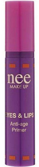 Омолаживающая основа для век и губ - Nee Make Up Eyes & Lips Anti-Age Primer
