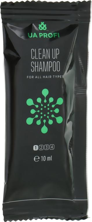 """Шампунь """"Глубокое очищение"""" для всех типов волос - UA Profi Clean Up Shampoo 1 Ph 7.0 (мини)"""