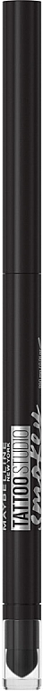 Гелевый карандаш для контуров век - Maybelline New York Tattoo Studio Smokey Gel Pencil Eyeliner