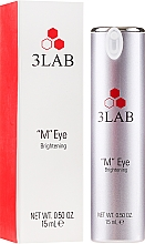 Духи, Парфюмерия, косметика Крем для лифтинга кожи вокруг глаз - 3Lab M Eye