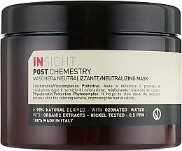 Парфумерія, косметика Маска після фарбування волосся з ефектом нейтралізації - Insight Post Chemistry Neutralizing Mask