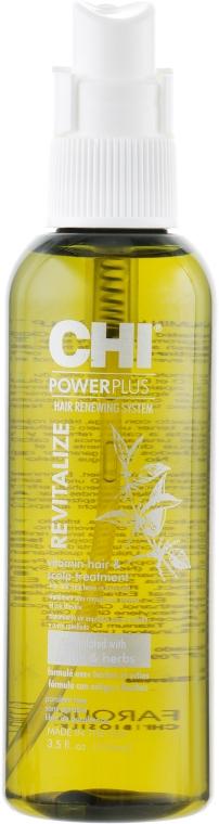 Витаминный комплекс для роста волос - Chi Power Plus Vitamin Treatment