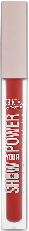 Матовая жидкая помада - Pastel Show Your Power Liquid Matte Lipstick