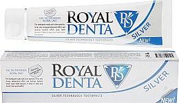 Духи, Парфюмерия, косметика Зубная паста с серебром - Royal Denta Silver Technology Toothpaste