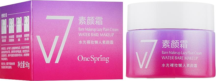 Осветляющий крем для лица - Bioaqua V7 Water Bare Make Up