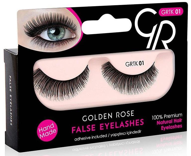 Накладные ресницы - Golden Rose False Eyelashes