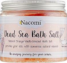 Духи, Парфюмерия, косметика Соль мертвого моря для ванны с маслом макадамии и ароматом ванили - Nacomi Dead Sea Bath Salt