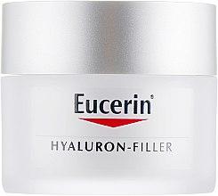 Духи, Парфюмерия, косметика Дневной крем против морщин для сухой и чувствительной кожи - Eucerin Hyaluron-Filler Day Cream For Dry Skin