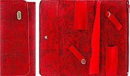 Духи, Парфюмерия, косметика УЦЕНКА Футляр для парикмахерских инструментов, 77407, красный - SPL *