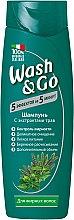 Духи, Парфюмерия, косметика Шампунь с экстрактами трав для жирных волос - Wash&Go