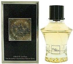 Духи, Парфюмерия, косметика Nu Parfums Black is Black - Парфюмированная вода