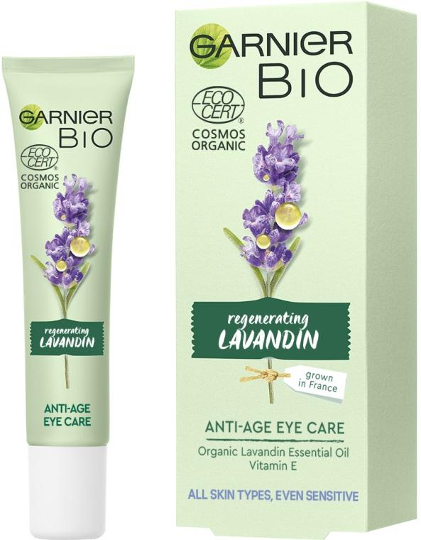 Антивозрастной крем для кожи вокруг глаз с экстрактом лавандину - Garnier Bio Lavandin Anti-Age Eye Care
