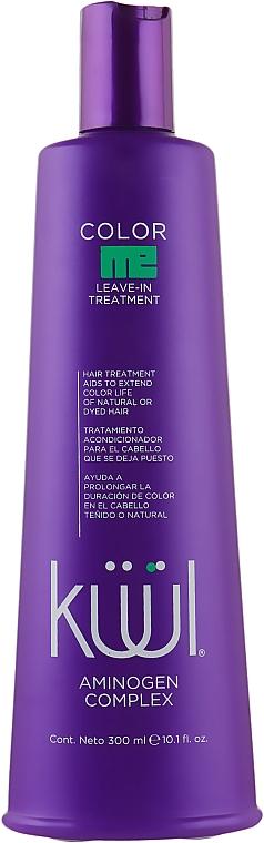 Несмываемый кондиционер для окрашенных волос - Kuul Color Me Leave In Treatment